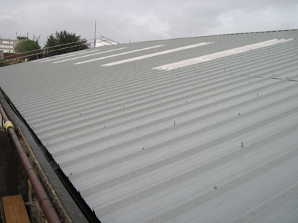 Roof installation and rooflights