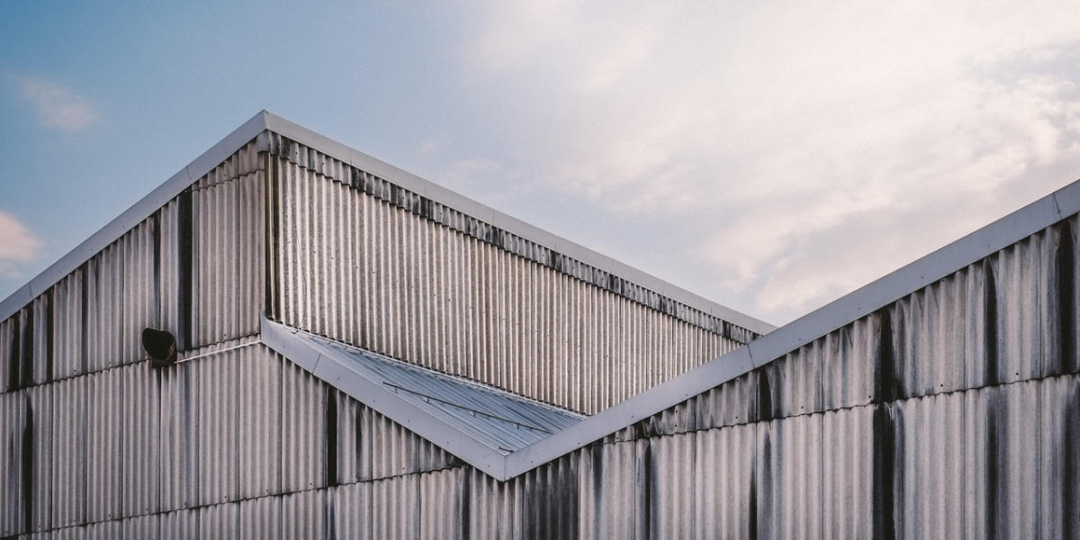 cladding on industrial building